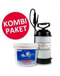 Halamid 5 kg Eimer & gratis Rückenspritze