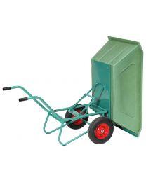 Kuki 400, Zweiradkarre mit Kippfunktion, 400 Liter