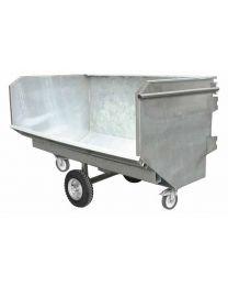 Mistcontainer feuerverzinkt, 2000 / 2650 / 3300 Liter