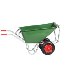 Zweiradkarre PE 170-2, 170 Liter
