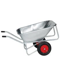 Zweiradkarre V 215-2, vollverzinkt, 215 Liter