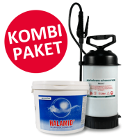 Halamid, 5 kg Eimer & Rückenspritze