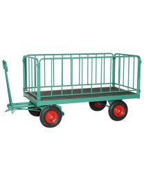 Handpritschenwagen mit 4 Rohrgittern