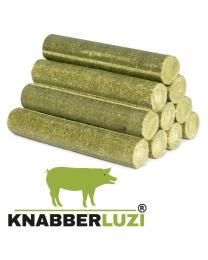 Snack&Play-Lucerne Knabberluzi - Luzernebriketts für Schweine