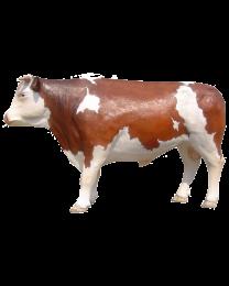 Stier aus Kunststoff, lebensgroß