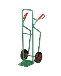 Stapelkarre mit Treppenrutscher, Stahl pulverbeschichtet, 300 kg